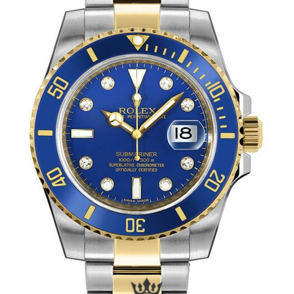 Rolex Submariner Replica 116613 Blue Bezel 40MM