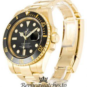 Rolex Submariner Replica 116618 LN Black Dial 40MM