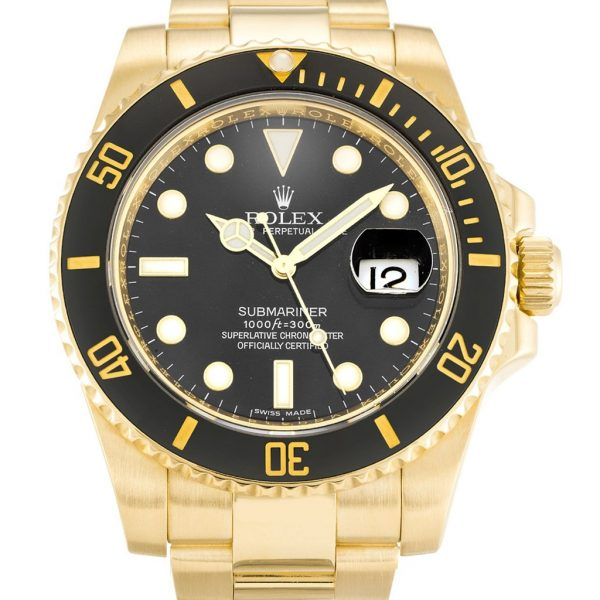 Rolex Submariner Replica 116618 LN Black Dial 40MM