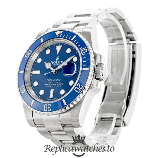 Rolex Submariner Replica 116619LB Blue Bezel 40MM
