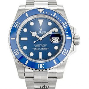 Rolex Submariner Replica 116619LB Blue Bezel 40MM