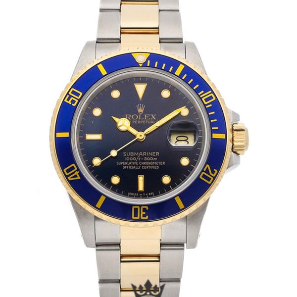 Rolex Submariner Replica 16083 Blue Bezel 40MM