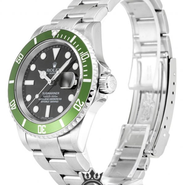 Rolex Submariner Replica 16610 LV Green Bezel 40MM