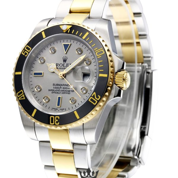 Rolex Submariner Replica 16613 001 Black Bezel 40MM