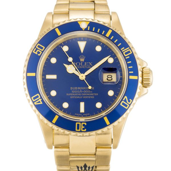 Rolex Submariner Replica 16618 Blue Bezel 40MM