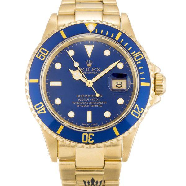 Rolex Submariner Replica 16618 Blue Bezel 40MM