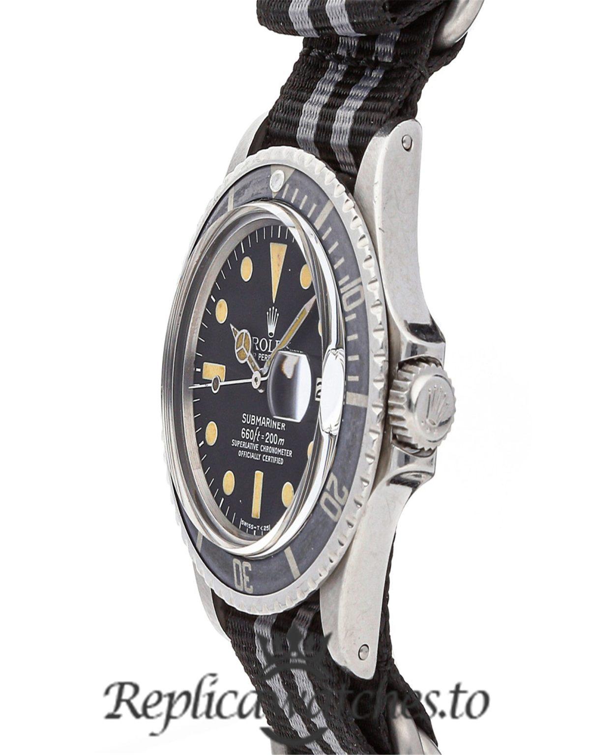 Rolex Submariner Replica 1680 001 Black Dial 40MM