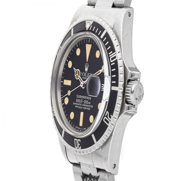 Rolex Submariner Replica 1680 002 Black Bezel 40MM