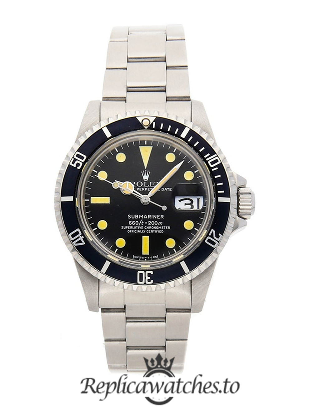 Rolex Submariner Replica 1680 Black Bezel 40MM