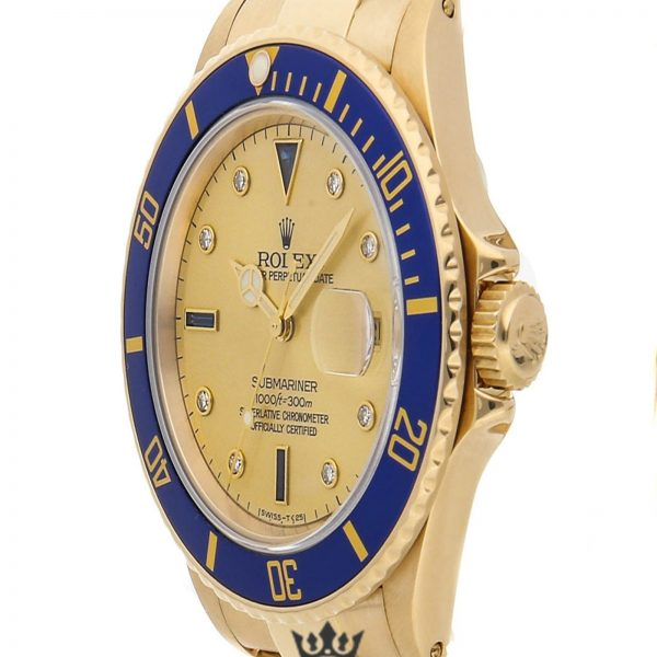 Rolex Submariner Replica 16808 Blue Bezel 40MM