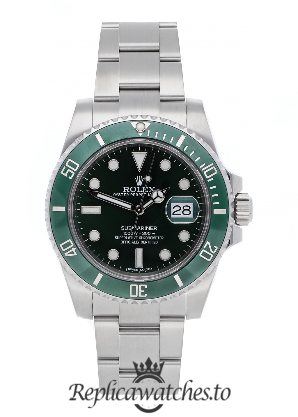 Rolex Submariner Replica 116610lv Green Bezel 40MM