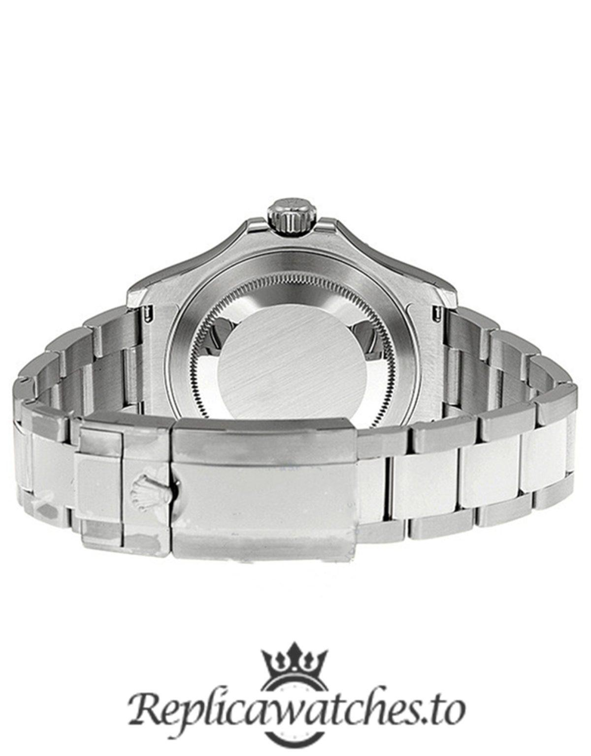 Rolex Yacht Master Replica 116622BLSO Silver Strap 40MM