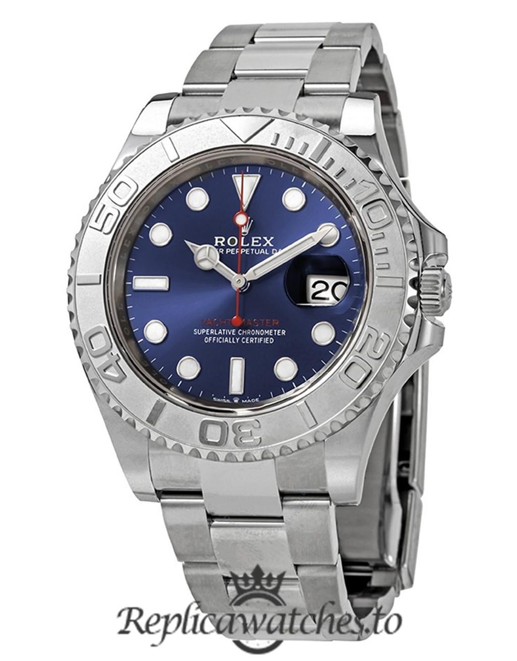 Rolex Yacht Master Replica 116695 SATS Silver Strap 40MM