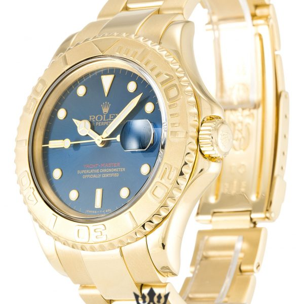 Rolex Yacht Master Replica 16628 Yellow Gold Bezel 40MM