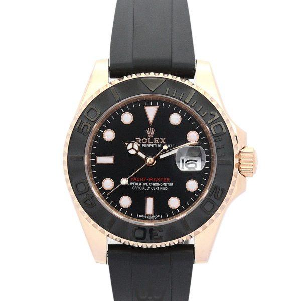 Rolex Yacht Master Replica 169622 Black Strap 35MM