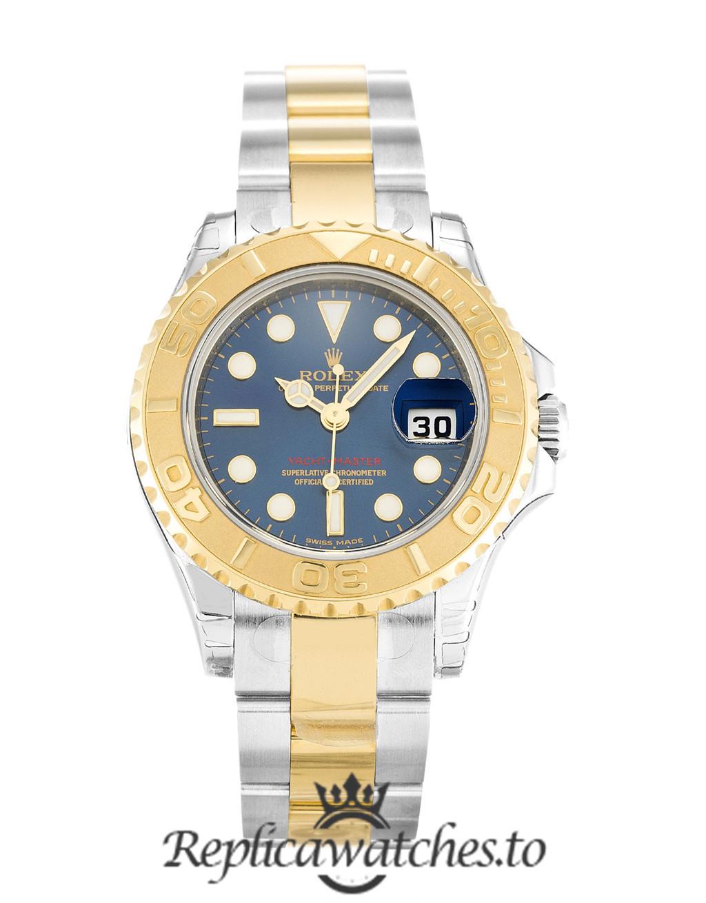 Rolex Yacht Master Replica 169623 Yellow Gold Bezel 29MM