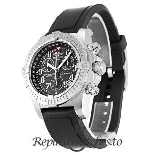 Breitling Avenger Seawolf Replica A73390 Black Dial 45.4MM