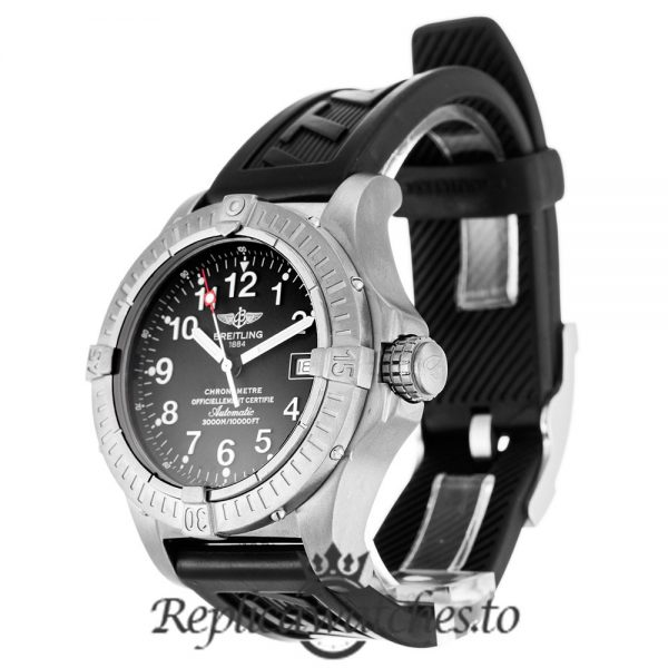 Breitling Avenger Seawolf Replica E17370 Black Dial 44MM