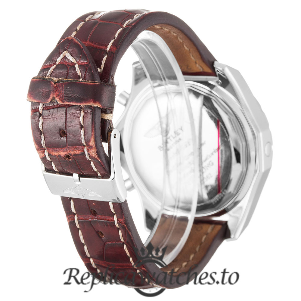 Breitling Bentley Replica A13362 001 Burgundy Strap 44.8MM