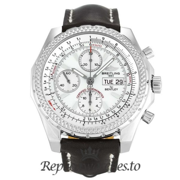 Breitling Bentley Replica A13362 Black Strap 44.8MM