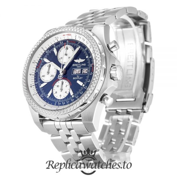 Breitling Bentley Replica A13363 Silver Strap 44.8MM