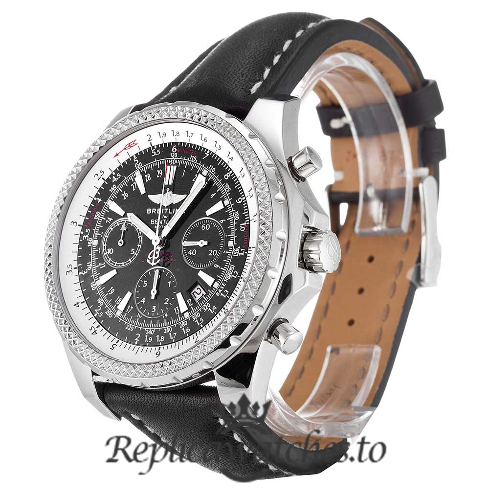 Breitling Bentley Replica A25362 Black Strap 44.8MM