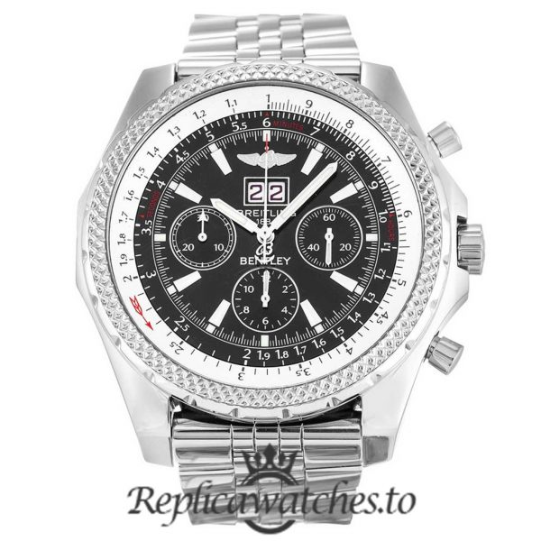 Breitling Bentley Replica A44362 Silver Strap 48.8MM