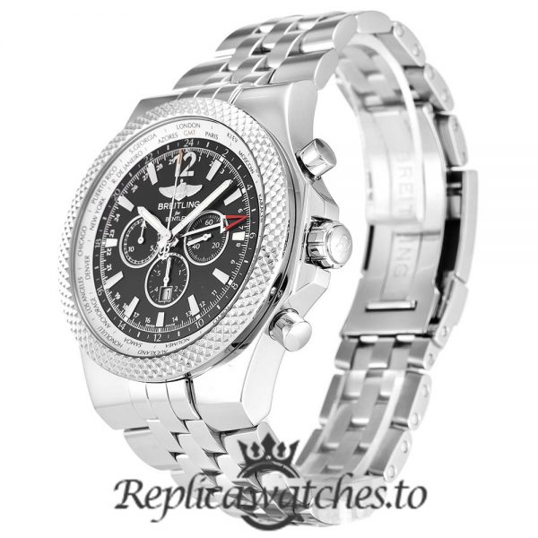 Breitling Bentley Replica A47362 Silver Strap 49MM