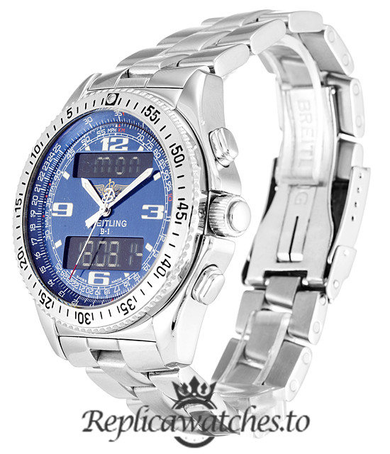 Breitling Bentley Replica A68362 Silver Strap 41MM