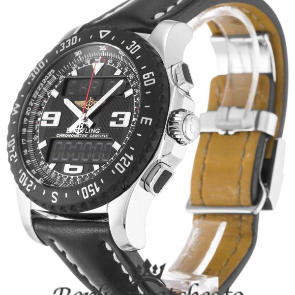 Breitling Bentley Replica A78364 Black Strap 43.5MM