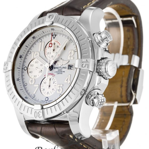 Breitling Chrono Avenger Replica A13370 002 White Dial 48.4MM