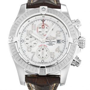 Breitling Chrono Avenger Replica A13370 002 White Dial 48.4MM
