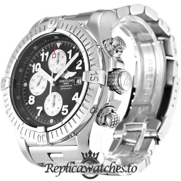 Breitling Chrono Avenger Replica A13370 Black Dial 48.4MM