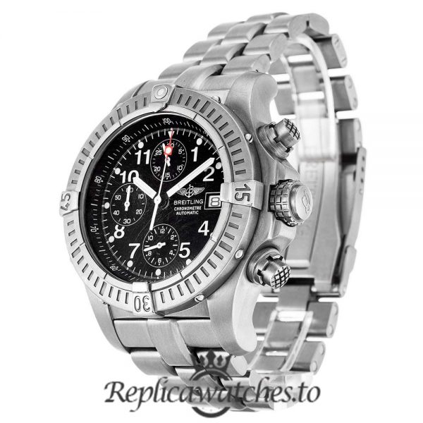 Breitling Chrono Avenger Replica E13360 Black Dial 44MM