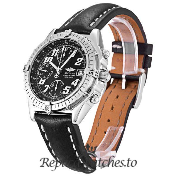 Breitling Chronomat Replica A13050.1 Black Strap 39MM