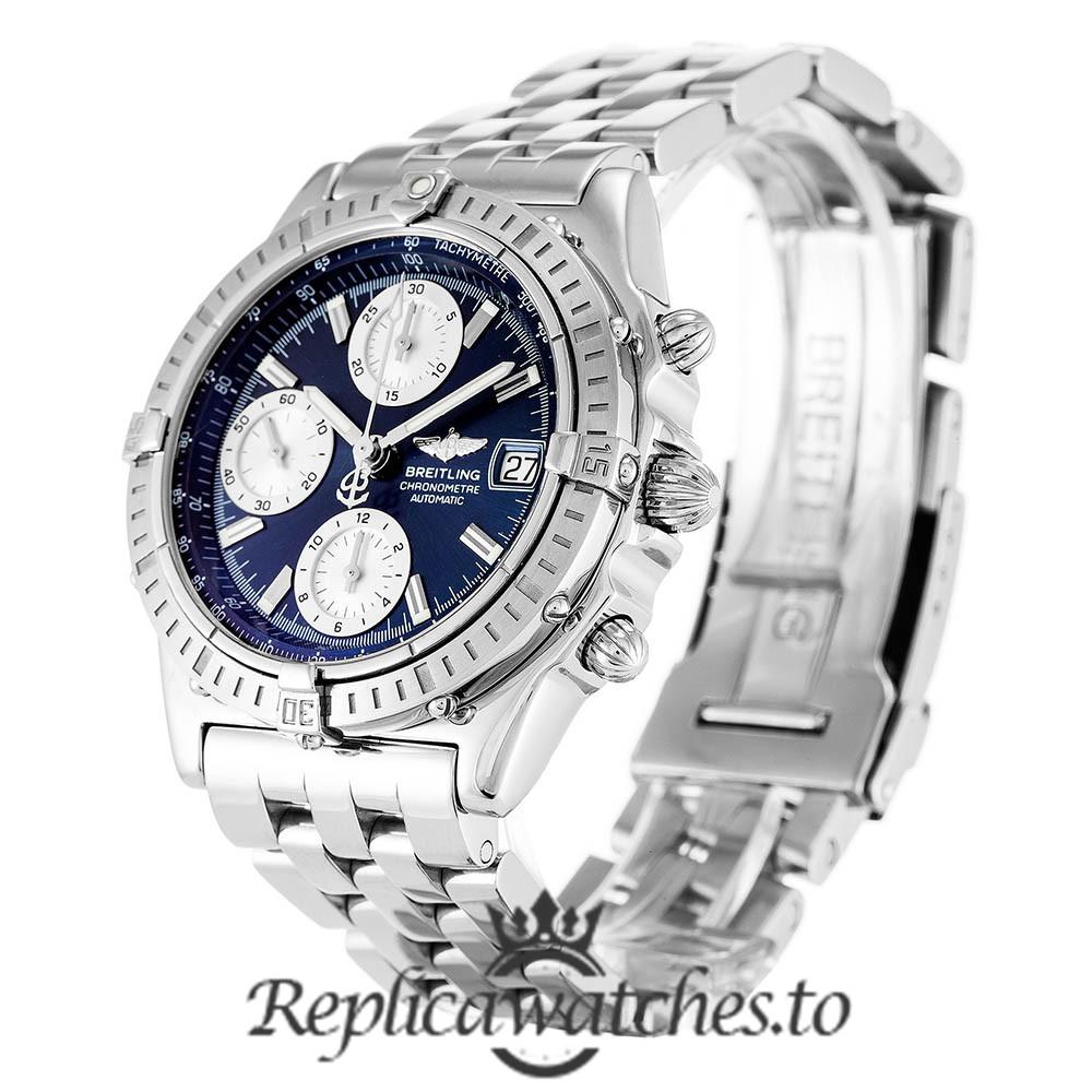 Breitling Chronomat Replica A13352 Blue Dial 40MM