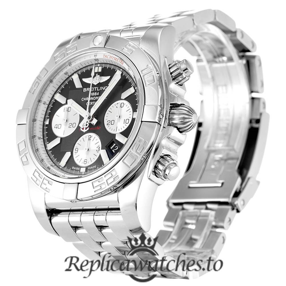 Breitling Chronomat Replica AB0110 Black Dial 44MM
