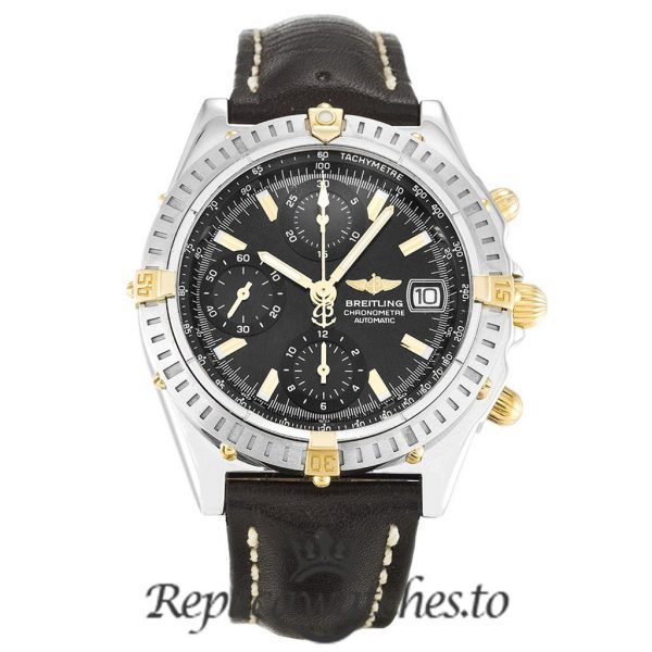 Breitling Chronomat Replica B13352 Black Dial 40MM