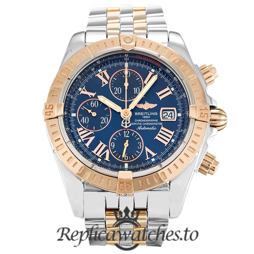 Breitling Chronomat Replica C13356 Blue Dial 44MM
