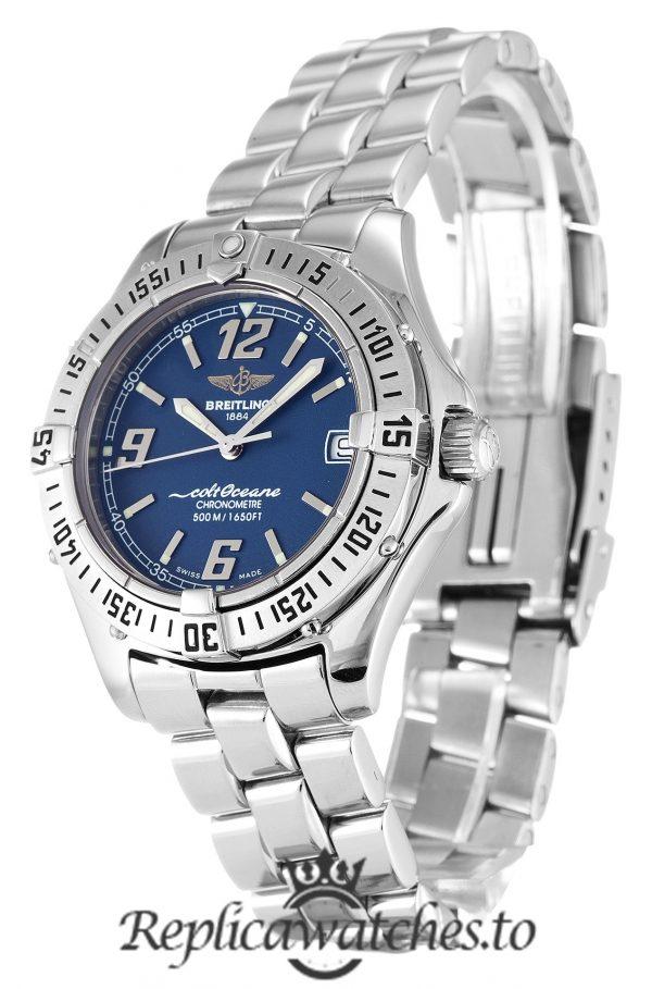 Breitling Colt Oceane Replica A57350 Blue Dial 32MM