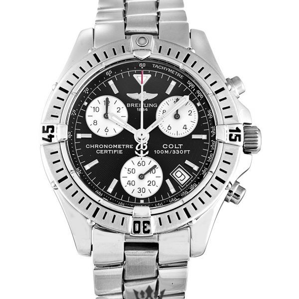 Breitling Colt Quartz Replica A73350 Black Dial 38MM