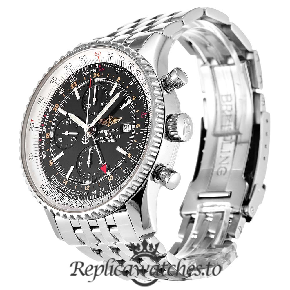 Breitling Navitimer Replica A24322 Silver Strap 46MM