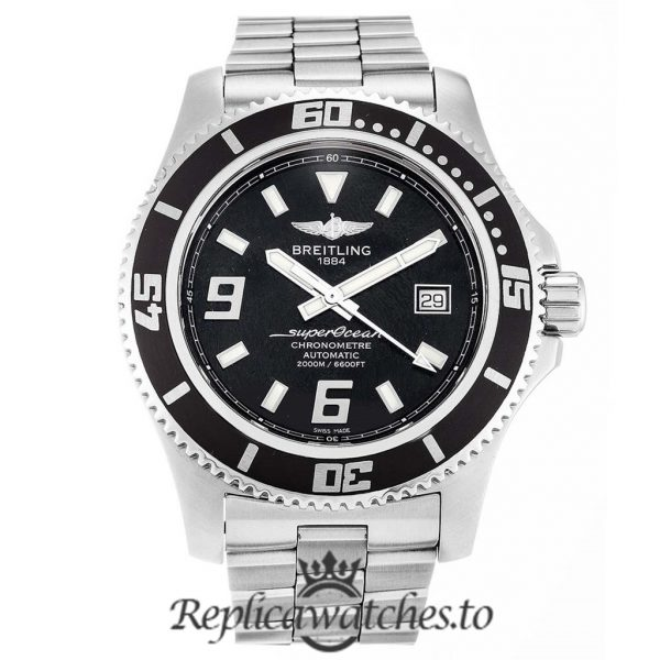 Breitling Superocean Replica A17391 Black Dial 44MM