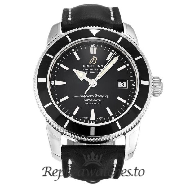 Breitling Superocean Heritage Replica A17321 Black Dial 42MM