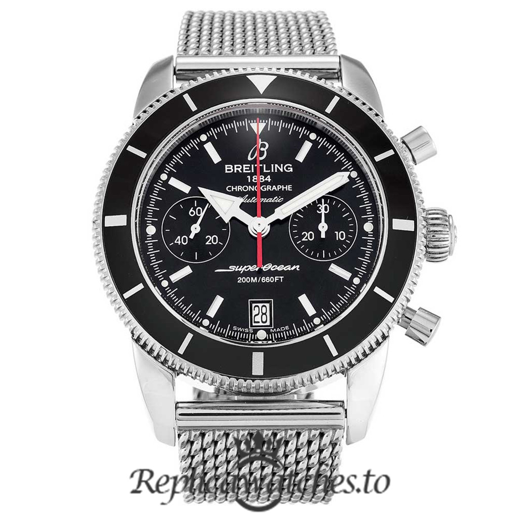 Breitling Superocean Heritage Replica A23370 Black Dial 44MM