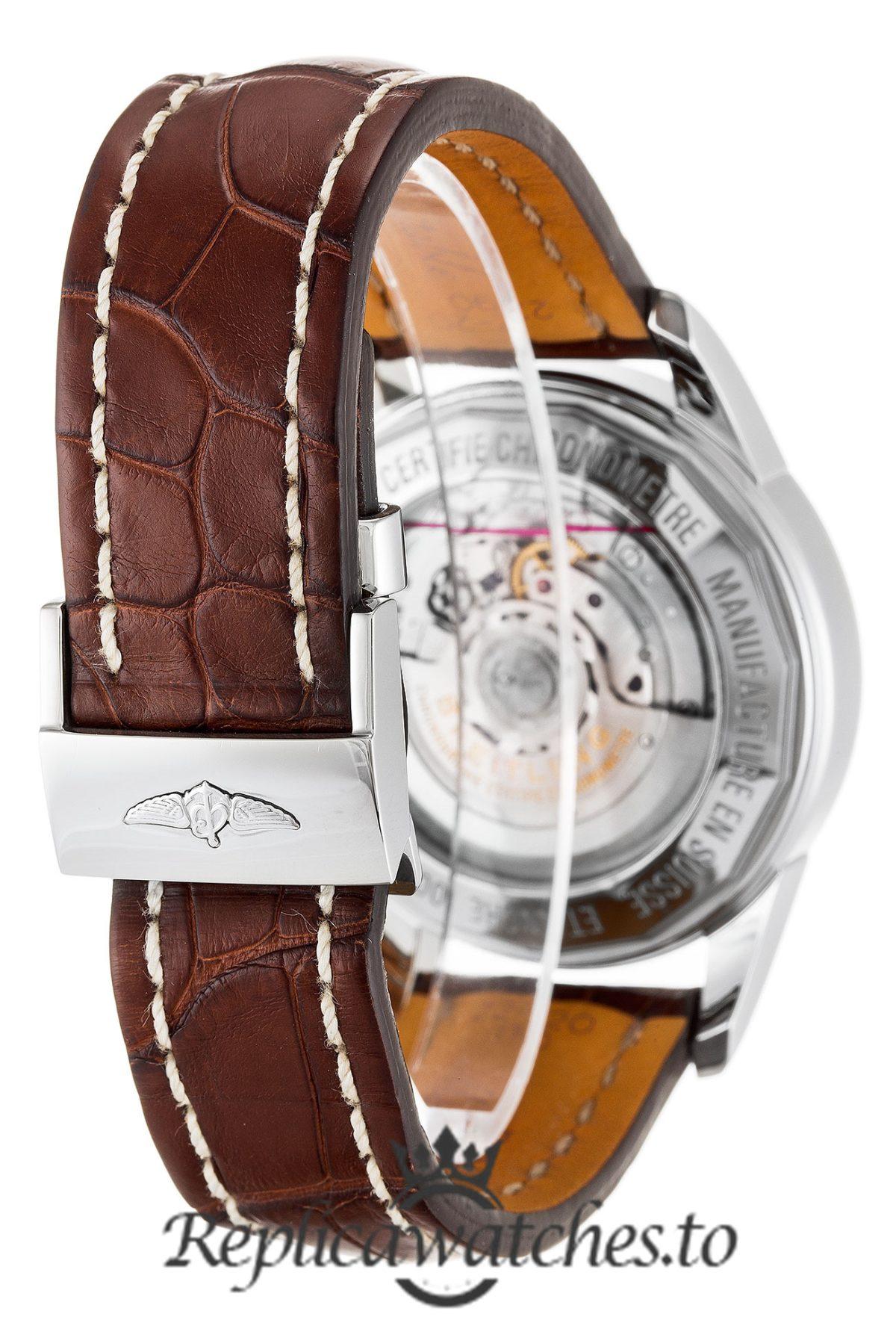 Breitling Transocean Chronograph Replica AB0152 002 Black Dial 43MM