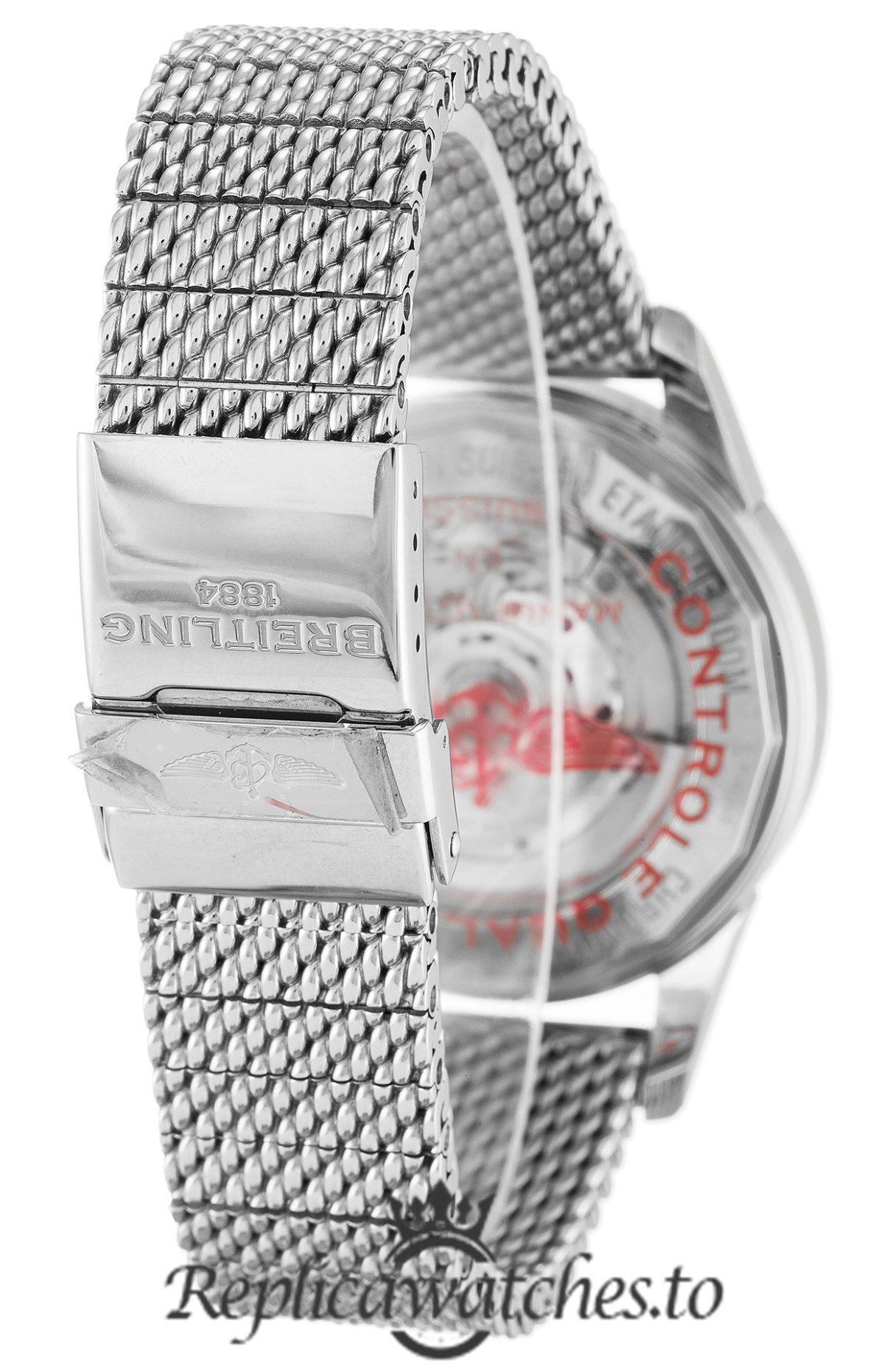 Breitling Transocean Chronograph Replica AB0152 001 Black Dial 43MM