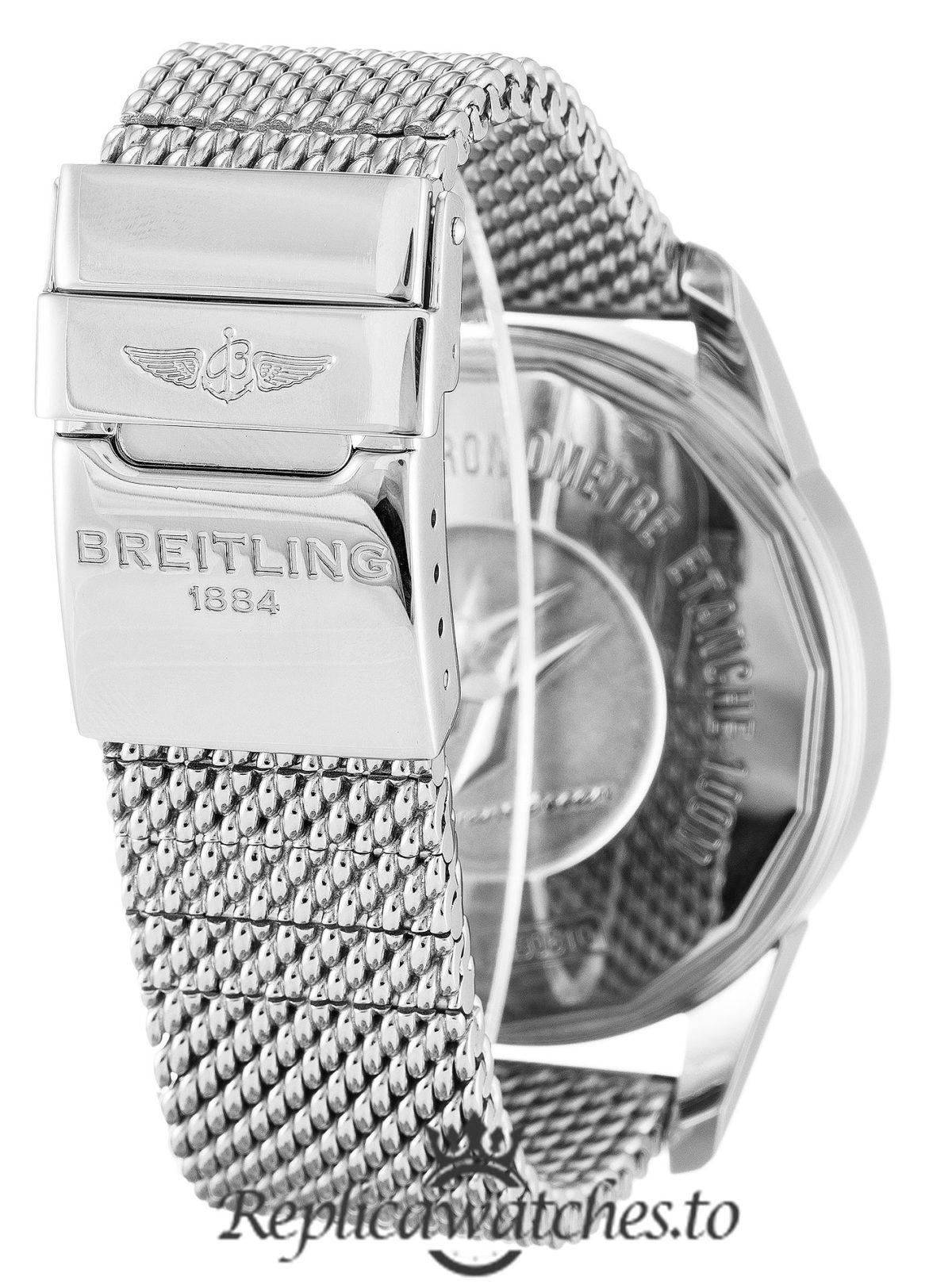 Breitling Transocean Chronograph Replica AB0510 002 Black Dial 46MM