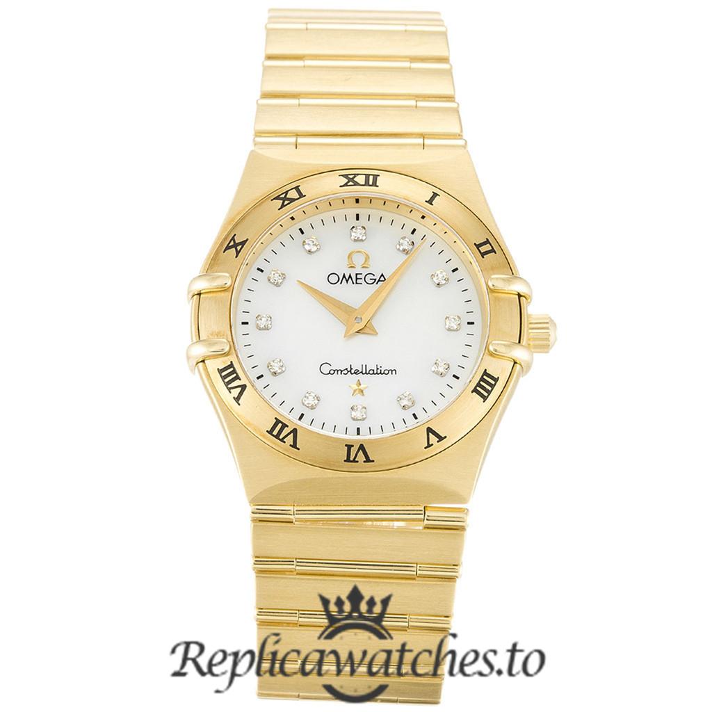 Omega Constellation Replica 1172.75.00 White Dial 25.5MM