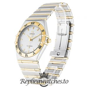 Omega Constellation Replica 1212.30.00 Silver Dial 33.5MM